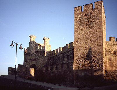 The castle at Ponferada